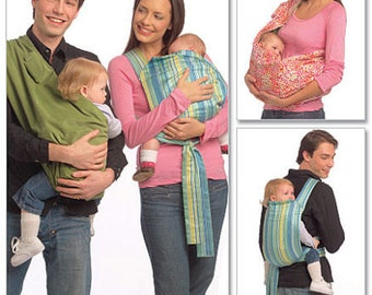 BABY SLING PATTERN! Sale! Make Infant Wrap - Carrier - Tie Sling