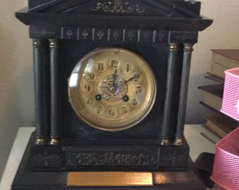 1896 Clock by James Dowell Carlisle - to Rev. A. Steel H.P. Church of Ecclefechan - UK  History - Presbyterian