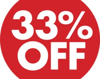 STORE CLOSING SALE! Use coupon code FAC33 for 33% 0ff Your Total Order! (Do not purchase this listing)