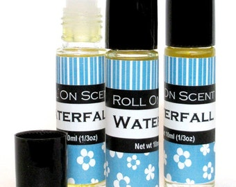 SALE, Waterlily perfume oil, old label clearance sale
