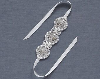 Pearl Bridal Cuff | Crystal Wedding Bracelet | Statement Rhinestone Bridal Cuff Bracelet | Wedding Jewelry [Sakura Cuff]