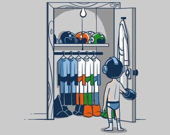 The Morning Routine Shirt  - Mega Man Shirt | Megaman Shirt | Unisex - Men's Women's T-Shirts | Geek | Nerd | Video Games