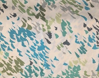 liberty of london fabric - rare limited edition - greens - fat quarter