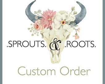 Custom Order for Amy Soucy