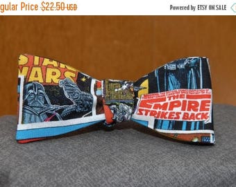 FathersDaySale Star Wars in Living Colour  Bow tie