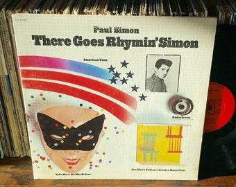 Paul Simon There Goes Rhymin' Simon Vintage Vinyl Record