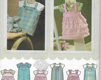 Simpliicity 4288 sewing pattern, Baby Romper, Jumper, Knit Onesie  Size xx s - L  Uncut Pattern