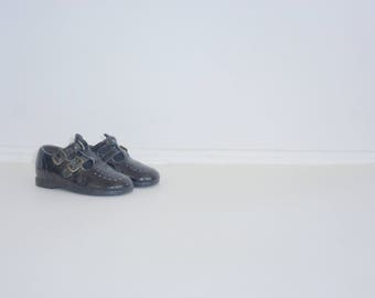 Vintage Black Patent Shoes