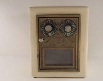 Corbin 1930's - 1954 Maple Post Office Box Door Bank
