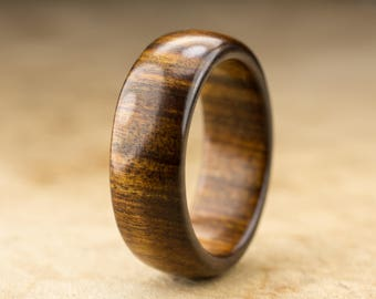 Size 9.5 - Tamboti Wood Ring No. 275