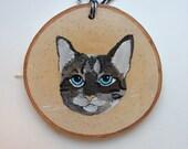 Cat Portrait, Pet Portrait, Custom Painting, Custom Portrait, Personalized gift, Memorial art, Custom cat portrait, Animal art