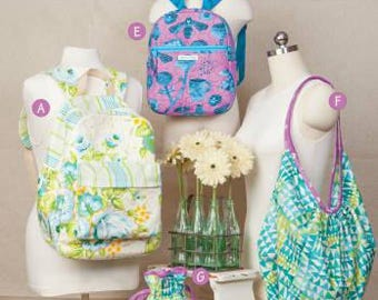 Backpacks and Bindles Softcover Pattern Book Taylor Made Designs