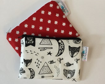 Reusable Snack Bag, Reusable Zipper Bag, Reusable Sandwich Bag, Zipper Pouch, Reusable, Adventure Snack Bag, Lunch Bag, Reusable Bag, Canada