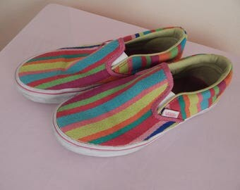 vans, mexican serape style,  womens size 7
