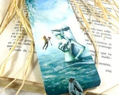 Spring cleaning sale Le sourire de la naïade - Laminated bookmark