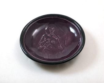 Handmade Pottery Morrigan Offering Bowl