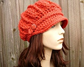 Reserve order Womens Slouchy Newsboy Hat