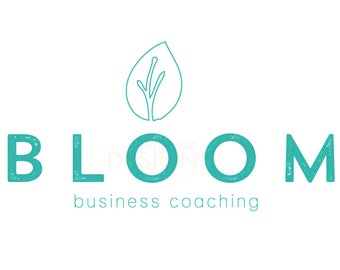 Premade Business Coaching Bloom Logo Design
