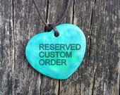 Reserved Custom Order of a cat art print