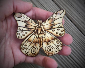 Fairy Lapel Pin 3 - One of a Kind