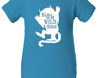King of All Wild Things Onesie And More!