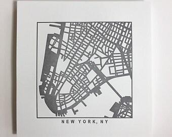 Nyc or Brooklyn pressed prints