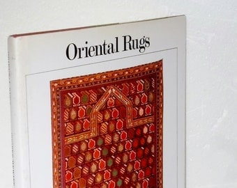 ORIENTAL RUGS, The Smithsonian Illustrared Library of Antique,  Tech History Rug Weaving, Turkish, Caccasus, Iran, Turkoman, India, China