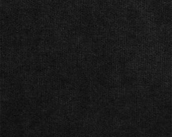 Corded Velvet pillow covers, Set of 4 black velvet pillow covers, 20 inches square, J B Martin  cushion