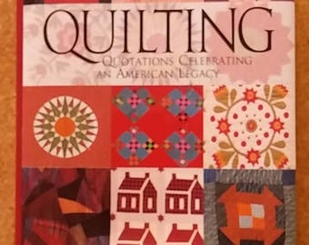 Quilting: Quotations Celebrating An American Legacy Tiny book Thimble bookmark GIFT