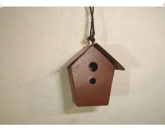 Rusty Metal Birdhouse Minis /Craft Supplies*