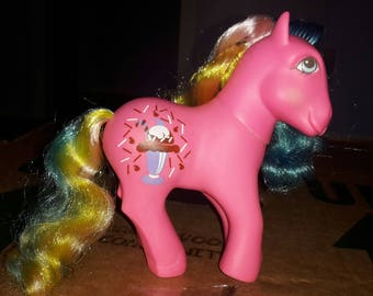 My little pony vintage sippin soda chocolate delight  gorgeous