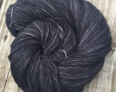 hand dyed Gunpowder Black...