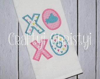 Hugs and Kisses - XOXO  -Submarine Kitchen Towel