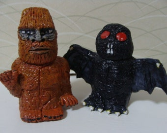 Sasquatch And MothMan S/P shakers(standard Size)*Made To  Order*