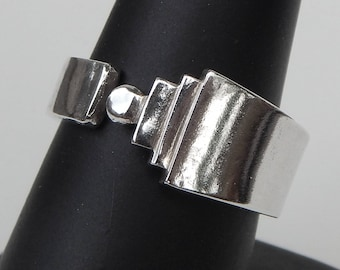 Sterling Silver Danish Demitasse Spoon Ring