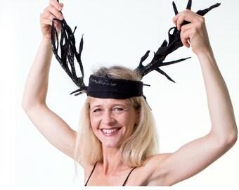 Merino Wool Silk Scarves - Nuno Felt Seaweed Art Accessories - One Of A Kind Woman Neckwarmer Grey Brown- Handmade France Paris Design