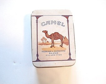 Camel Cigaretts Tin, Joe Camel, Camel Cigaretts, Cigaretts Collectible, Camel, Cigaretts, Camel Collectible, Vintage Camel Tins, Tobacco Tin