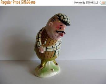 50% off Sale ON SALE VIntage 1950 Golfer Enesco Japan Porcelain figure