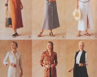 Shirt-Dress Sewing Pattern UNCUT McCalls 3254 Sizes 10-14