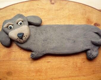 Black and Brown Dachshund Magnet Wiener  Dog  Decoration Doxie