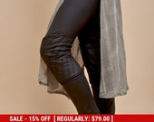 NEW! faux leather pants women - faux leather leggings women - black glossy pants - womens leggings - black tights - sexy leggings