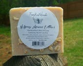 Honey Almond Oatmeal - Handcrafted rustic soap