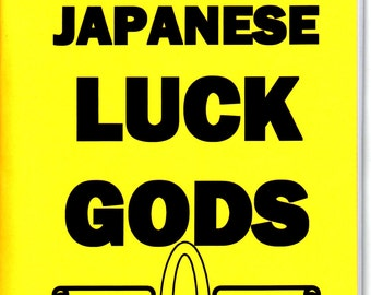 Magic of the Japenese luck gods book by S. Rob occult good luck