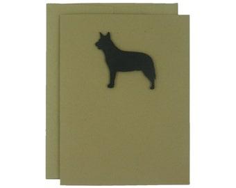 Australian Cattle Dog Blank Note Cards Blank Dog Card Dog Note Cards Blank Pet Cards Blank Dog Cards Dog Lover Gift Dog Cards