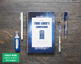 Doctor Who Planner / Weekly / Half-Size / 12 Months / Choose Your Layout (Vertical or Horizontal) / Pick Your Own Starting Month