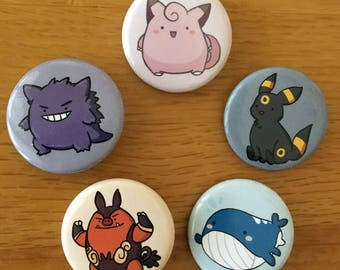 Pokemon Buttons