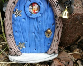 Fairy Door Minnie Mouse inspired  1190 Clearance