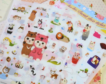 Choo Choo Sweet Deco Stickers Set