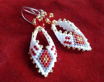 Happy day earrings Rombe ornament promo