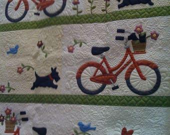 Stowaways Quilt KIT Scotty Dogs & Bikes